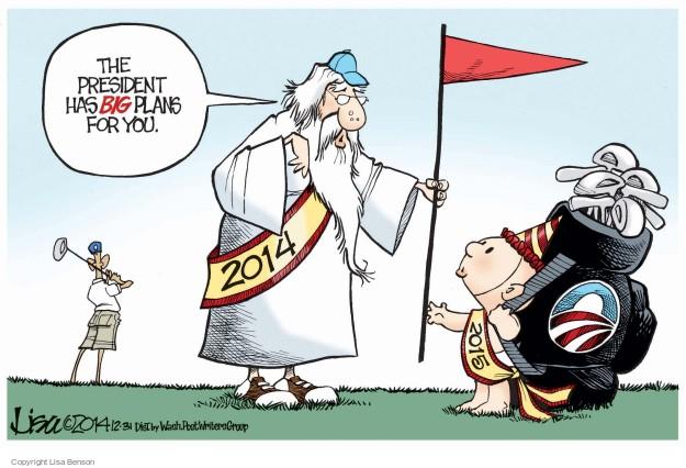 Cartoonist Lisa Benson  Lisa Benson's Editorial Cartoons 2014-12-31 big