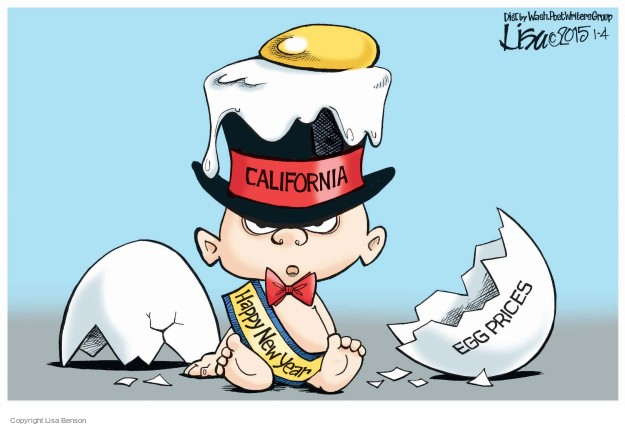 Cartoonist Lisa Benson  Lisa Benson's Editorial Cartoons 2015-01-04 happy
