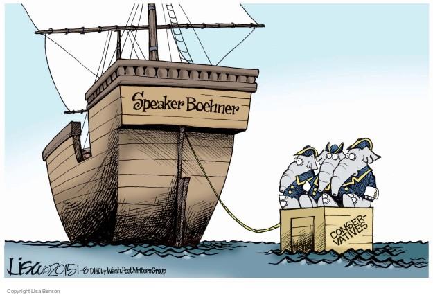 Cartoonist Lisa Benson  Lisa Benson's Editorial Cartoons 2015-01-08 Speaker of the House