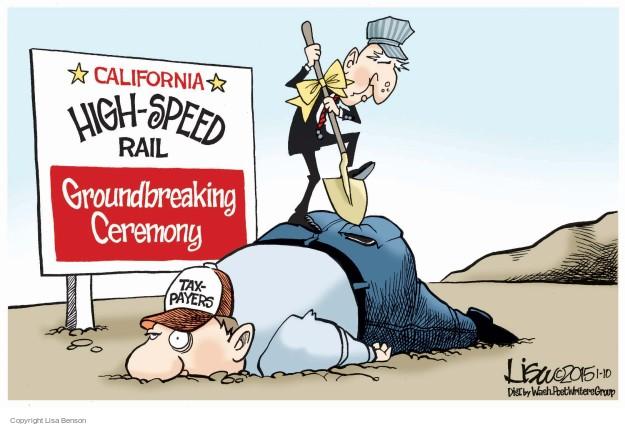 Cartoonist Lisa Benson  Lisa Benson's Editorial Cartoons 2015-01-10 train