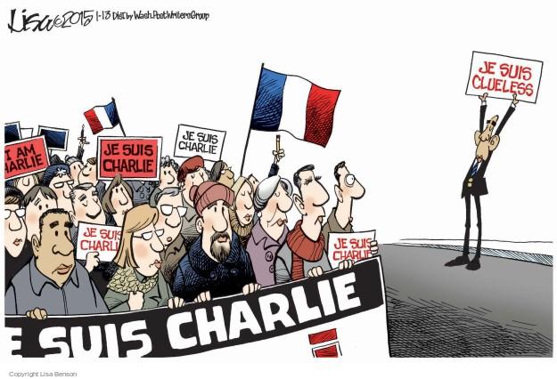 Je suis clueless. Je suis Charlie.