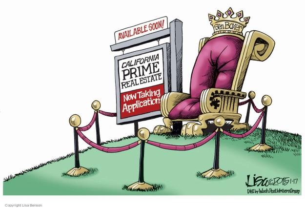 Lisa Benson  Lisa Benson's Editorial Cartoons 2015-01-17 real estate
