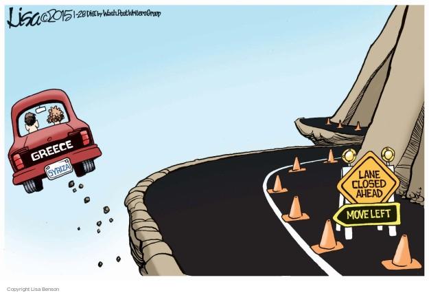 Cartoonist Lisa Benson  Lisa Benson's Editorial Cartoons 2015-01-28 election