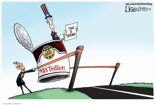 Tax & Spend. U.S. Debt. $18 trillion.