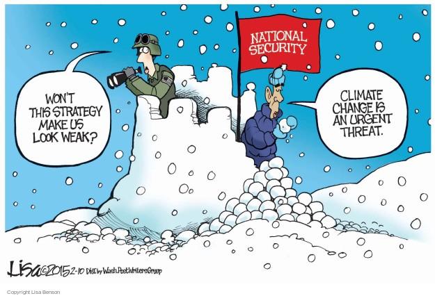 Cartoonist Lisa Benson  Lisa Benson's Editorial Cartoons 2015-02-10 security risk