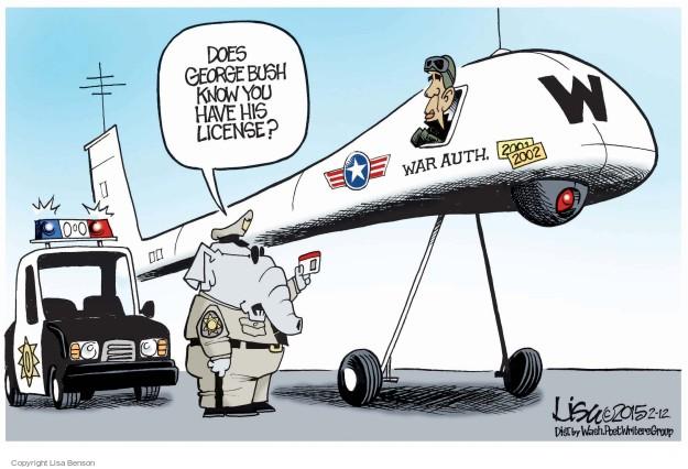 Cartoonist Lisa Benson  Lisa Benson's Editorial Cartoons 2015-02-12 George