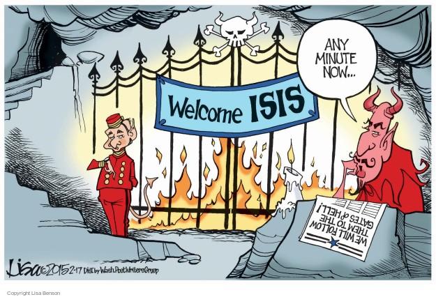 Lisa Benson  Lisa Benson's Editorial Cartoons 2015-02-17 terrorist