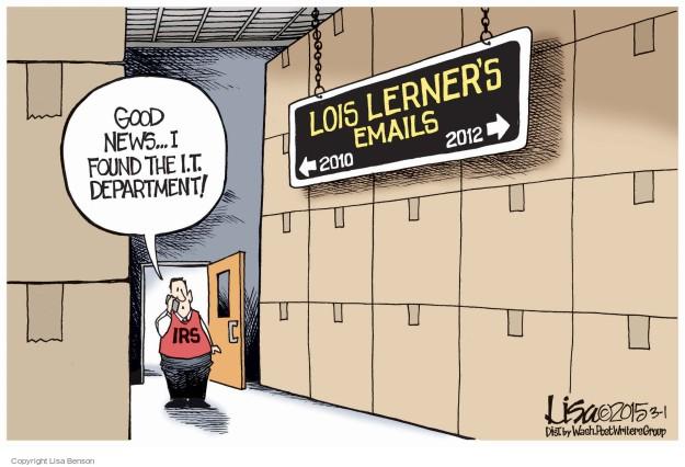 Lisa Benson  Lisa Benson's Editorial Cartoons 2015-03-01 2012