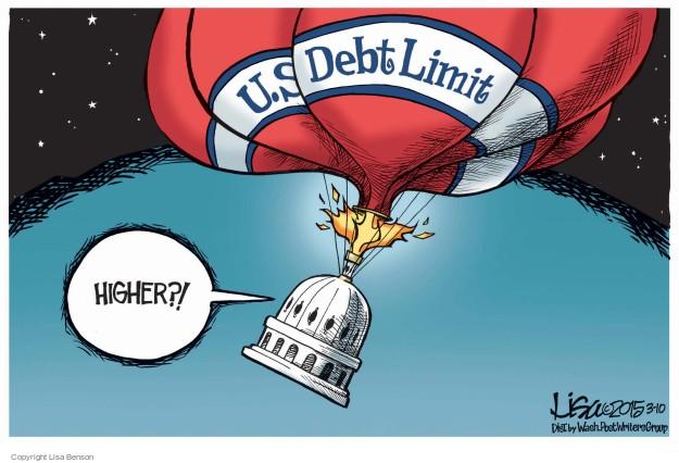 Lisa Benson  Lisa Benson's Editorial Cartoons 2015-03-10 federal budget