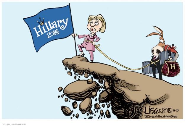 Cartoonist Lisa Benson  Lisa Benson's Editorial Cartoons 2015-03-13 election