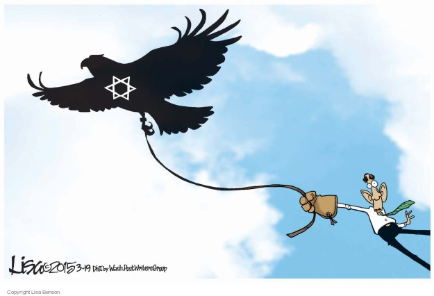 Lisa Benson  Lisa Benson's Editorial Cartoons 2015-03-19 United States and Israel