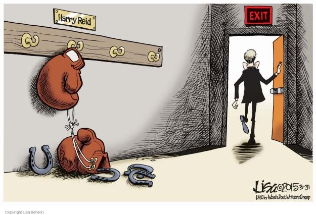 Cartoonist Lisa Benson  Lisa Benson's Editorial Cartoons 2015-03-31 senate minority leader