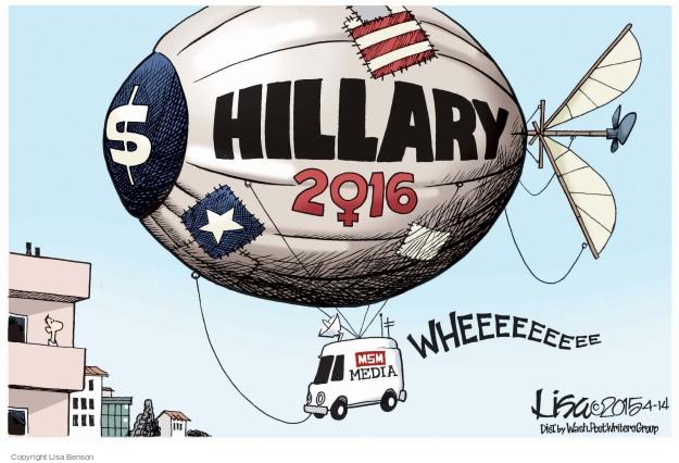 Cartoonist Lisa Benson  Lisa Benson's Editorial Cartoons 2015-04-14 election
