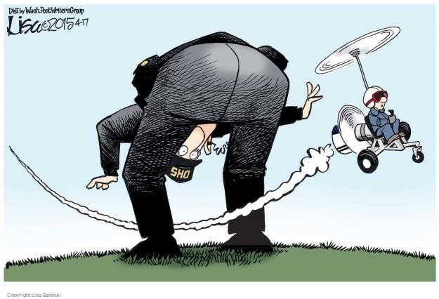 Cartoonist Lisa Benson  Lisa Benson's Editorial Cartoons 2015-04-17 Department of Homeland Security