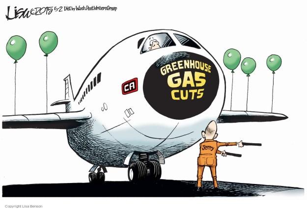 Cartoonist Lisa Benson  Lisa Benson's Editorial Cartoons 2015-05-02 Jerry Brown