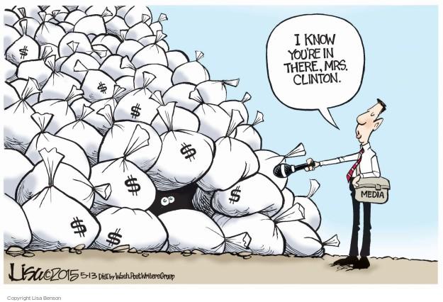 Cartoonist Lisa Benson  Lisa Benson's Editorial Cartoons 2015-05-13 election