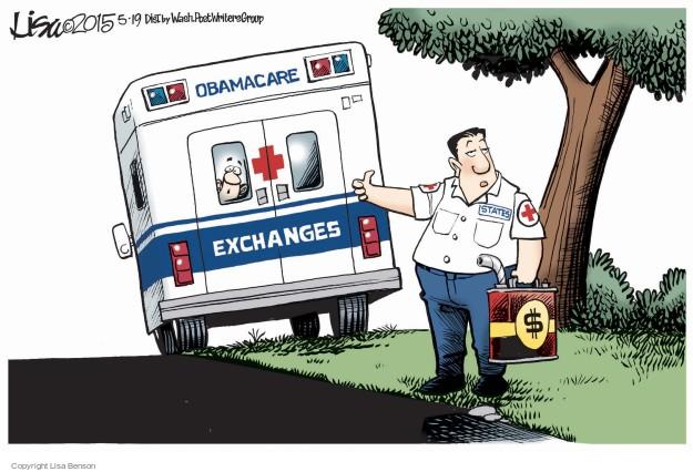Lisa Benson  Lisa Benson's Editorial Cartoons 2015-05-19 health care reform