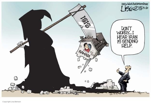 Lisa Benson  Lisa Benson's Editorial Cartoons 2015-05-20 Iran