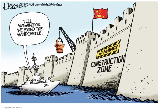 Lisa Benson  Lisa Benson's Editorial Cartoons 2015-05-28 China