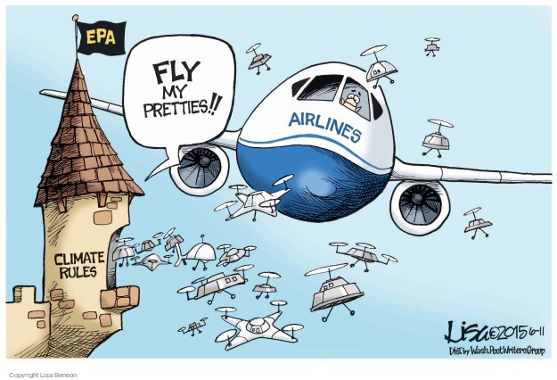 Cartoonist Lisa Benson  Lisa Benson's Editorial Cartoons 2015-06-11 carbon emissions