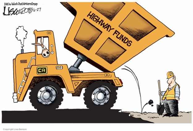 Cartoonist Lisa Benson  Lisa Benson's Editorial Cartoons 2015-06-27 construction