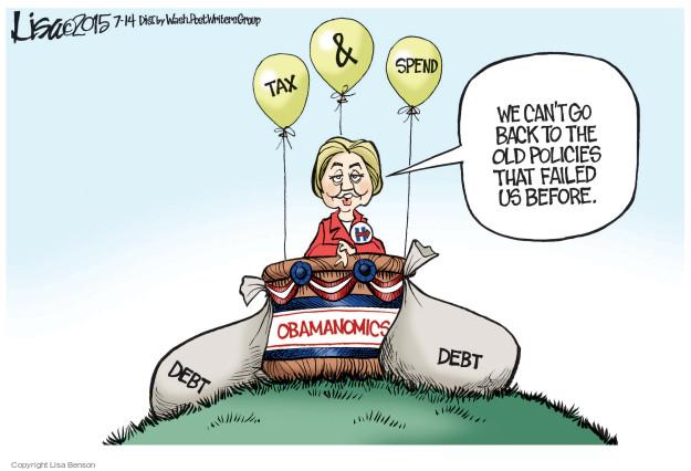 Cartoonist Lisa Benson  Lisa Benson's Editorial Cartoons 2015-07-14 election