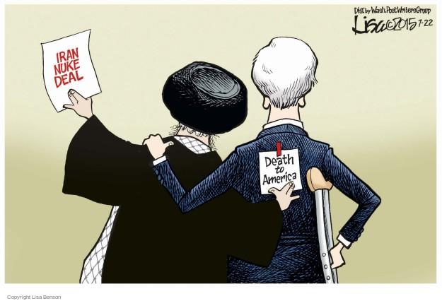 Lisa Benson  Lisa Benson's Editorial Cartoons 2015-07-22 Hassan Rouhani