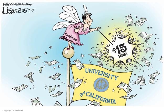 Lisa Benson  Lisa Benson's Editorial Cartoons 2015-07-25 $15