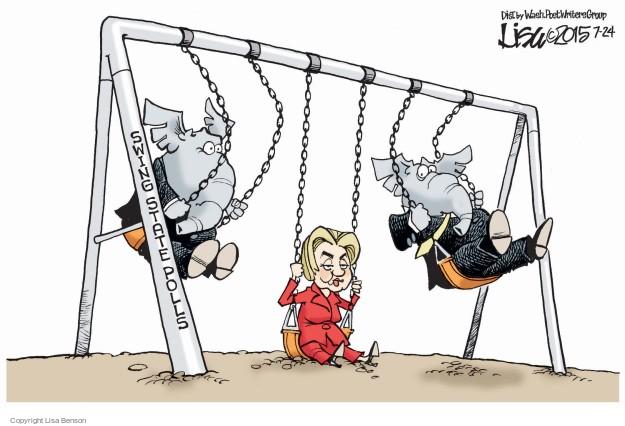 Cartoonist Lisa Benson  Lisa Benson's Editorial Cartoons 2015-07-24 election