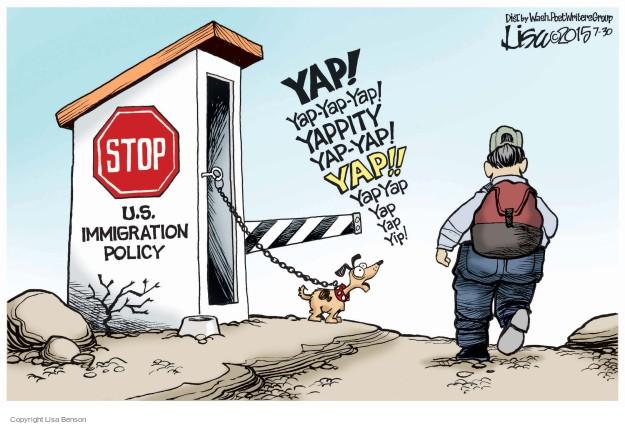 Cartoonist Lisa Benson  Lisa Benson's Editorial Cartoons 2015-07-30 border