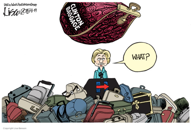 Cartoonist Lisa Benson  Lisa Benson's Editorial Cartoons 2015-08-19 election