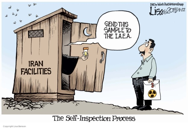 Cartoonist Lisa Benson  Lisa Benson's Editorial Cartoons 2015-08-22 nuclear