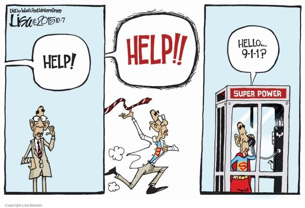 Cartoonist Lisa Benson  Lisa Benson's Editorial Cartoons 2015-10-07 power