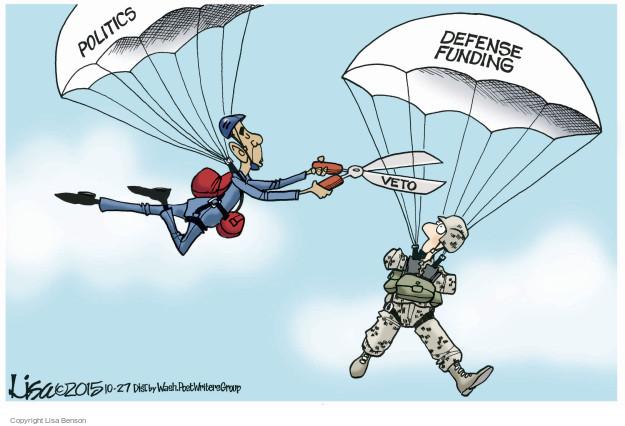 Cartoonist Lisa Benson  Lisa Benson's Editorial Cartoons 2015-10-27 executive branch