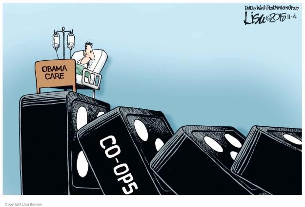 Cartoonist Lisa Benson  Lisa Benson's Editorial Cartoons 2015-11-04 collapse
