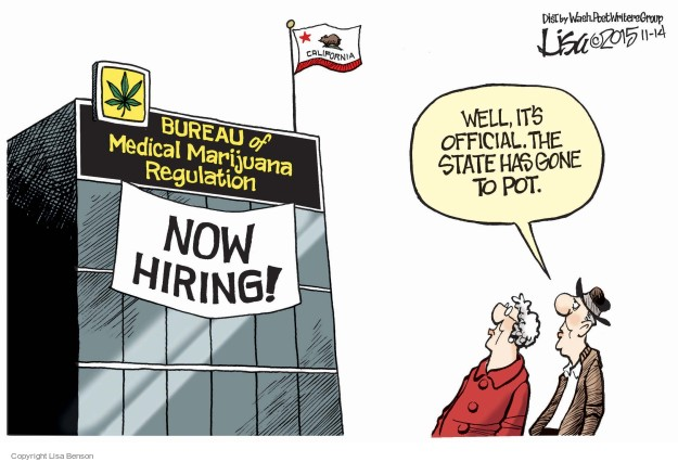 Cartoonist Lisa Benson  Lisa Benson's Editorial Cartoons 2015-11-14 employment