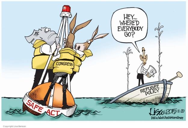 Cartoonist Lisa Benson  Lisa Benson's Editorial Cartoons 2015-11-20 House of Representatives