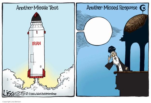 Cartoonist Lisa Benson  Lisa Benson's Editorial Cartoons 2015-12-11 missile