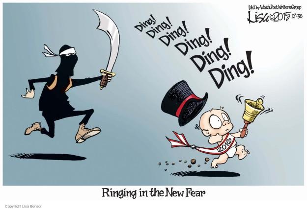 Cartoonist Lisa Benson  Lisa Benson's Editorial Cartoons 2015-12-30 ding