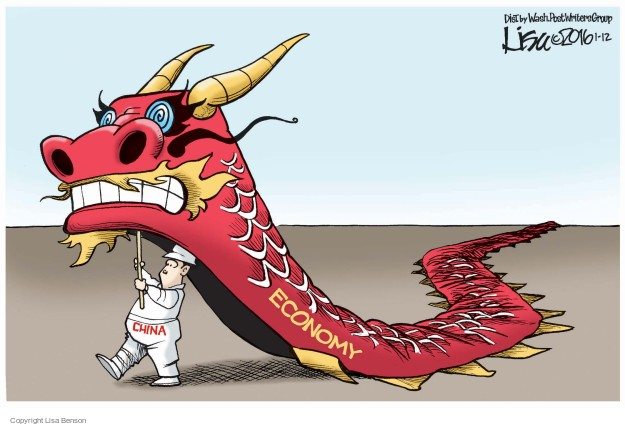 Lisa Benson  Lisa Benson's Editorial Cartoons 2016-01-12 China