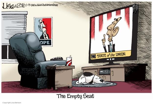 Cartoonist Lisa Benson  Lisa Benson's Editorial Cartoons 2016-01-13 union