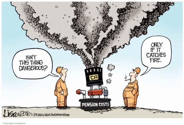 Lisa Benson  Lisa Benson's Editorial Cartoons 2016-01-23 danger