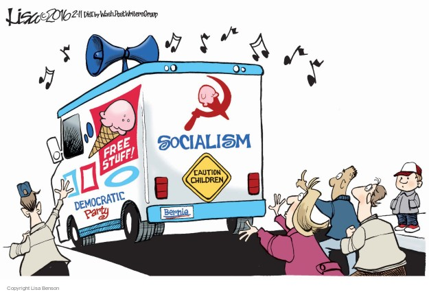 Lisa Benson  Lisa Benson's Editorial Cartoons 2016-02-11 2016 Election Bernie Sanders