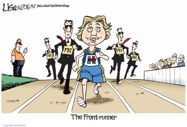 Cartoonist Lisa Benson  Lisa Benson's Editorial Cartoons 2016-03-03 election
