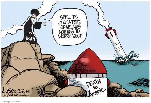 Cartoonist Lisa Benson  Lisa Benson's Editorial Cartoons 2016-03-11 death