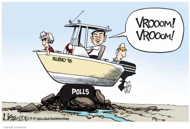 Lisa Benson  Lisa Benson's Editorial Cartoons 2016-03-15 2016 election Marco Rubio