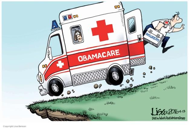 Lisa Benson  Lisa Benson's Editorial Cartoons 2016-04-13 health care reform