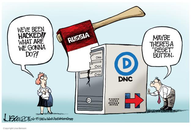 Cartoonist Lisa Benson  Lisa Benson's Editorial Cartoons 2016-06-15 national security