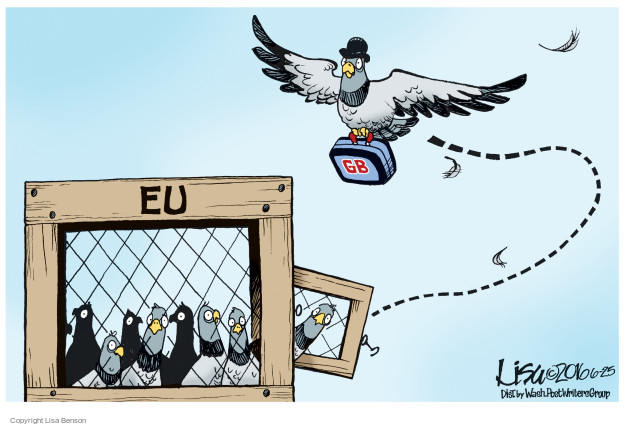 Cartoonist Lisa Benson  Lisa Benson's Editorial Cartoons 2016-06-25 european