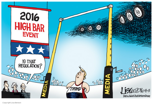 Lisa Benson  Lisa Benson's Editorial Cartoons 2016-08-11 summer Olympics